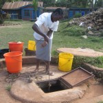 Drawing water from the well